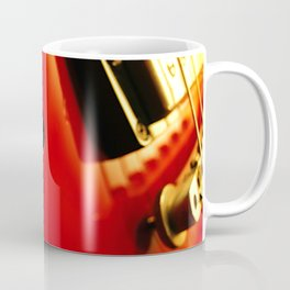Guitar f Hole Coffee Mug