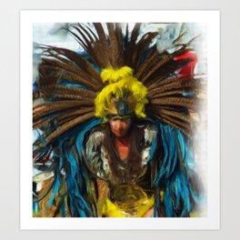 dancer 4 Art Print