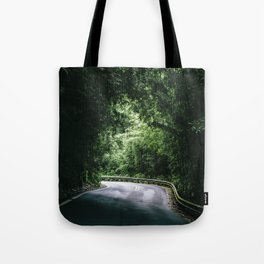 Driving the Hana Highway Tote Bag