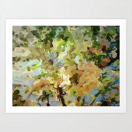 Spring Crabapple Blossoms Art Print