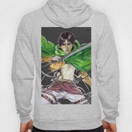 Eren Jaeger (dark gray background) Hoody