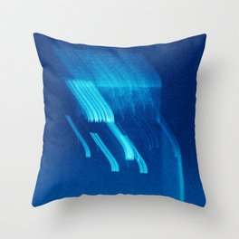Being at the Drive-In Throw Pillow