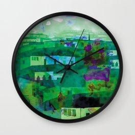Despues de La Lluvia Wall Clock