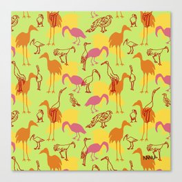 Feathered Flocks - Gaggle Canvas Print