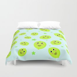 Lime Party Duvet Cover