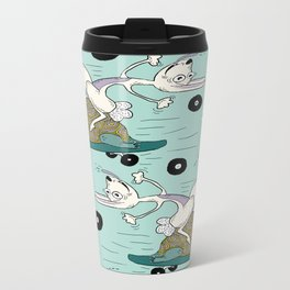 tortoise and the hare skater style Travel Mug