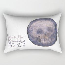 The Skull Inside of Us Rectangular Pillow
