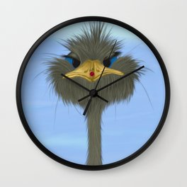 George And His Visitor Wall Clock