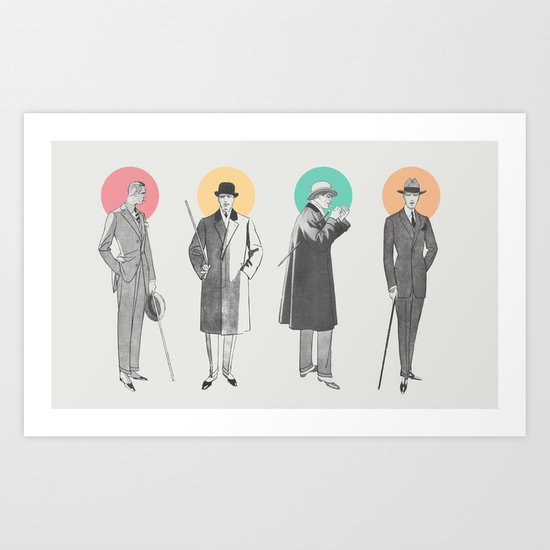 Classy Art Print