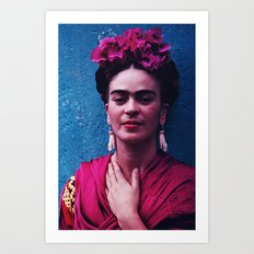 FRIDA KAHLO 3 Art Print