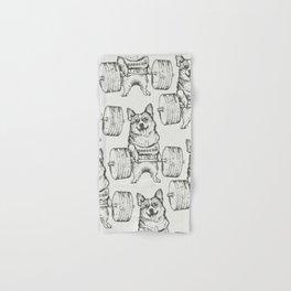 Corgi Lift Hand & Bath Towel