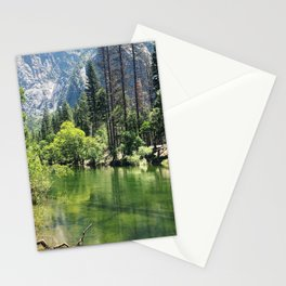 Merced river at Yosemite Stationery Cards