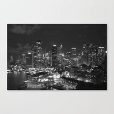 Sydney Skyline Canvas Print