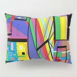 Geometry Abstract Pillow Sham
