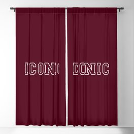 The Iconic Edition II Blackout Curtain