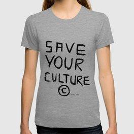 SAVEYOURCULTURE T-shirt