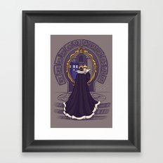 Mirror Mirror on the Wall...Who's the Doctor Come to Call? Framed Art Print