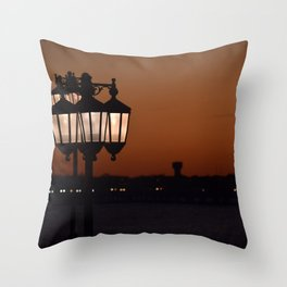 Sunsets at the Lake Throw Pillow