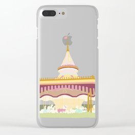 Carousel 2 Clear iPhone Case