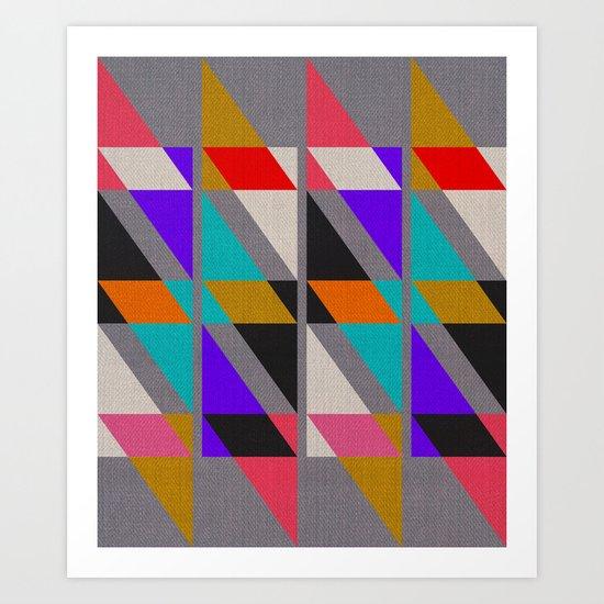Fragments X Art Print