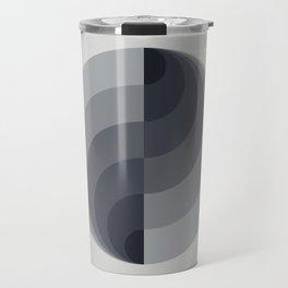 Marble Gray Globe LT Travel Mug