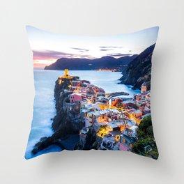 Cinque Terre #society6 #decor #buyart #homedecor Throw Pillow
