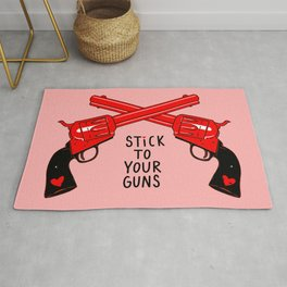 Stick to Your Guns Rug