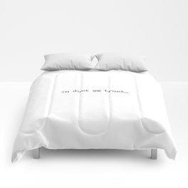 In Dust We Trust Comforters