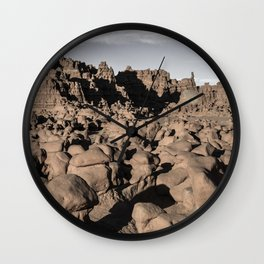 HooDoo Forest - Goblin Valley, Utah Wall Clock