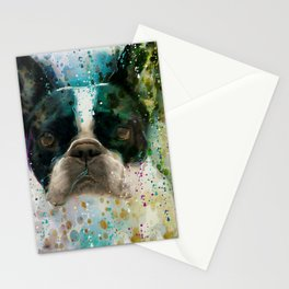 Paint It Frenchie Stationery Cards