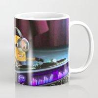minion Mugs featuring Minion by Duitk