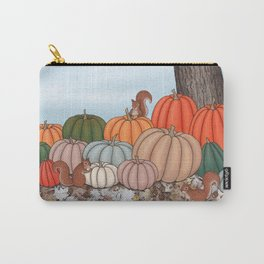 heirloom pumpkins, squirrels, & the oak tree Carry-All Pouch