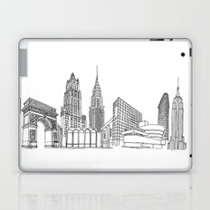 New York City by the Downtown Doodler Laptop & iPad Skin