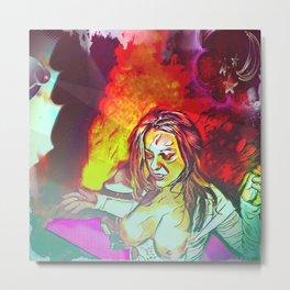 Inferno At The Starlight Revue! Metal Print