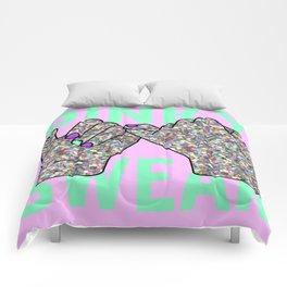 Pinky Swear Glitter Hands Comforters