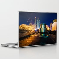 metallic Laptop & iPad Skins featuring Metallic by Sonic Highlark