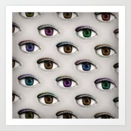I ONLY HAVE EYES FOR YOU Art Print