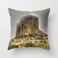 utah Throw Pillows featuring Utah Monument by Kent Moody