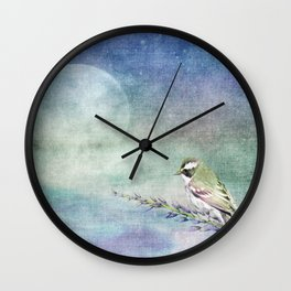Home to Roost Wall Clock