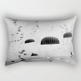 Airborne Mission During WW2 Rectangular Pillow
