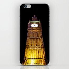 Big Ben – Paint & Poster Effect iPhone Skin