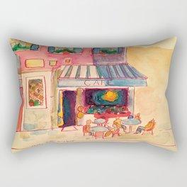 Paris Cafe  Rectangular Pillow