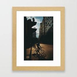 Deconstructed Framed Art Print