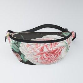 Dark floral bloom Fanny Pack