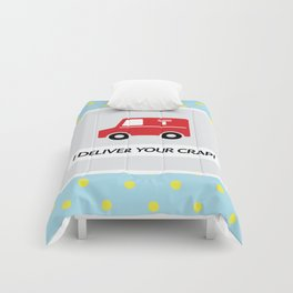 Mail Truck Comforters