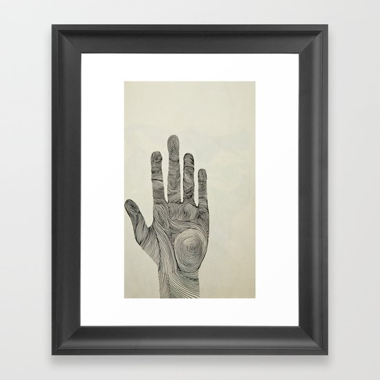 Hand Framed Art Print