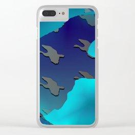 Bird and birdies 2 ... Clear iPhone Case