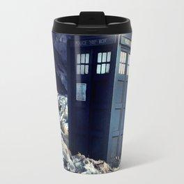 tardis dr who Travel Mug