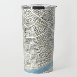 New Orleans City Map Travel Mug