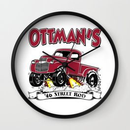 OTTMAN'S '46 Rev 2.0 Wall Clock